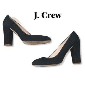 J. Crew Pointy Toe Block Heels Size 8.5